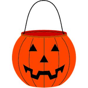Cliparts of free . Pumpkin clipart pail