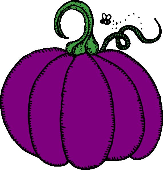 Purple clip art at. Pumpkin clipart sign