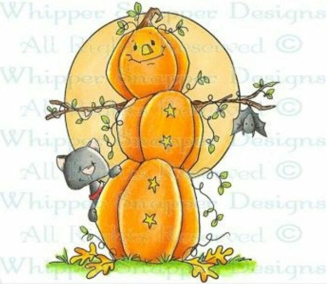Pumpkin clipart snowman. Fall prints dibujos halloween