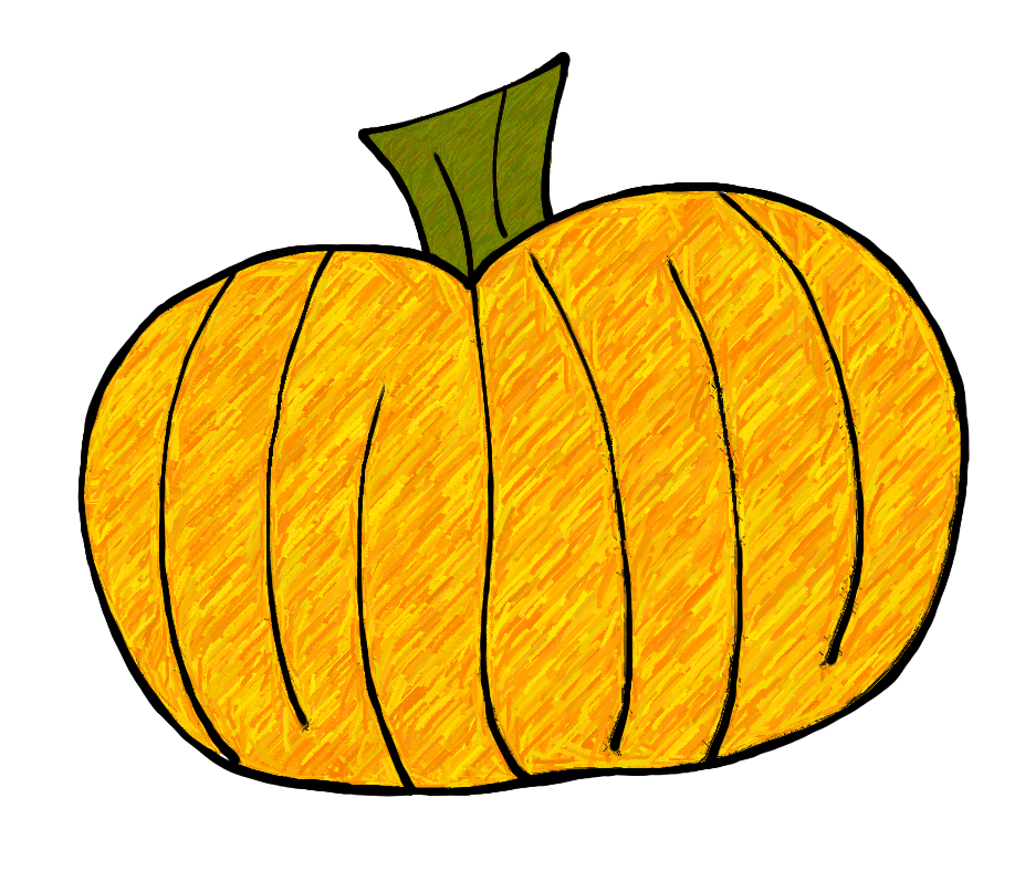 collection of mini. Pumpkin clipart stem
