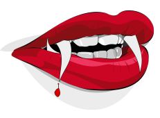 Witch clipart tongue. Happy halloween sexy vampire