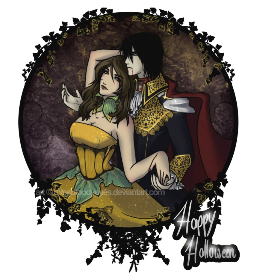 Queen and king by. Pumpkin clipart vampire