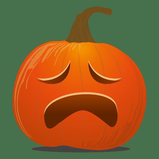 Pumpkin vector png. Cry emoticon transparent svg