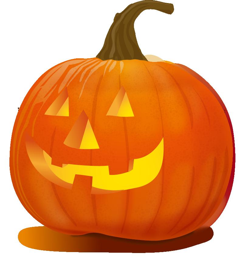 Pumpkin vector png. Halloween jack o lantern