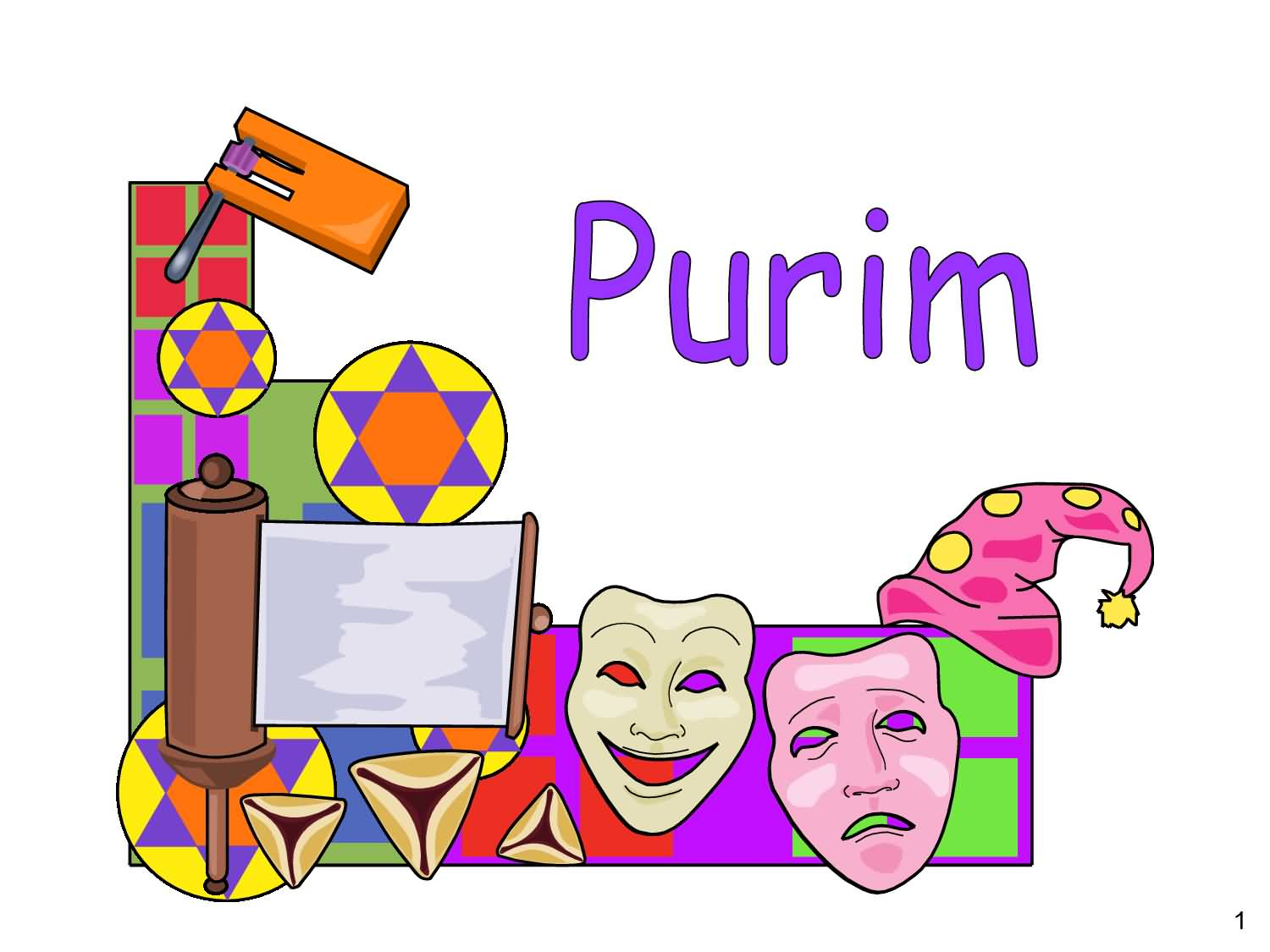 Purim clipart. Wishes