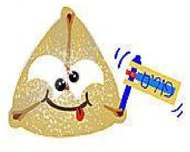 Party like its hamentash. Purim clipart