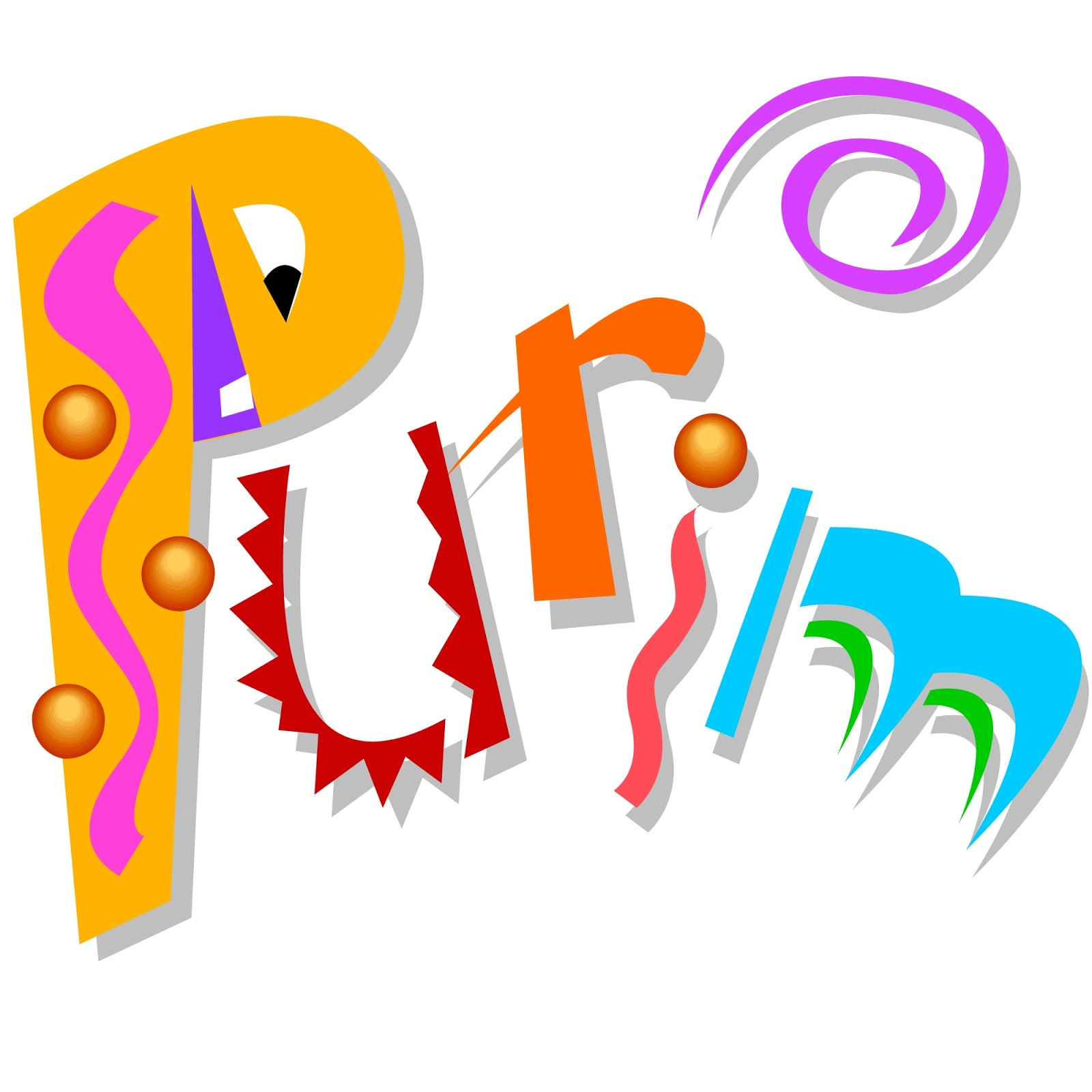 Temple beth israel . Purim clipart carnival