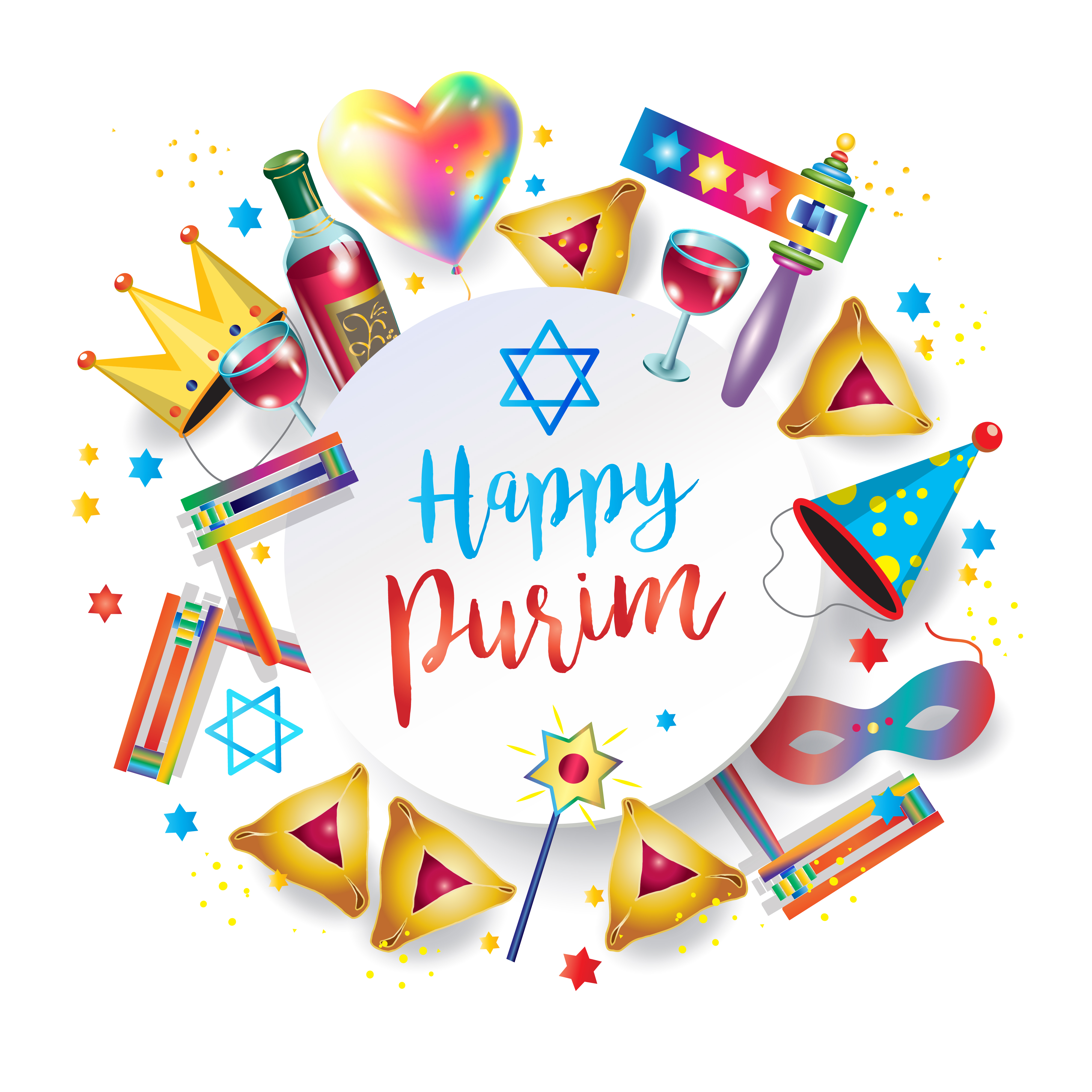 Purim clipart celebration. The th street y