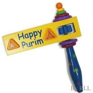 Homemade groggers crafts for. Purim clipart grogger