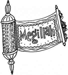 Megillah scroll hamsa and. Purim clipart megillat esther