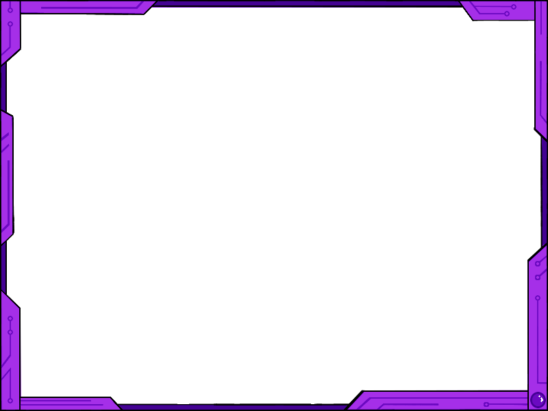 Purple border png. Simple futuristic design ver