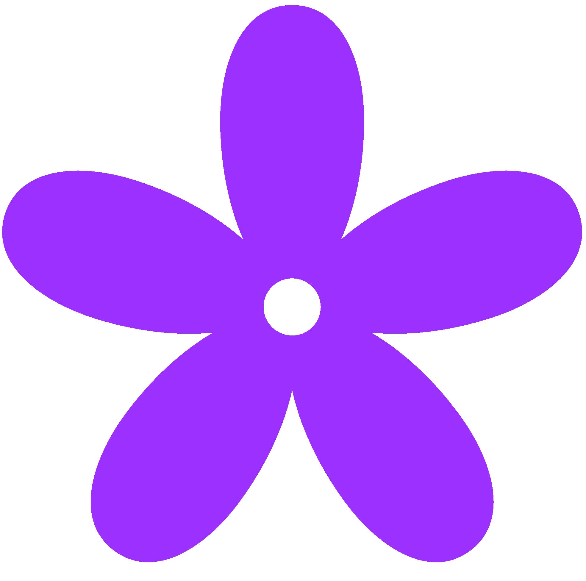 Flower clip art panda. Purple clipart
