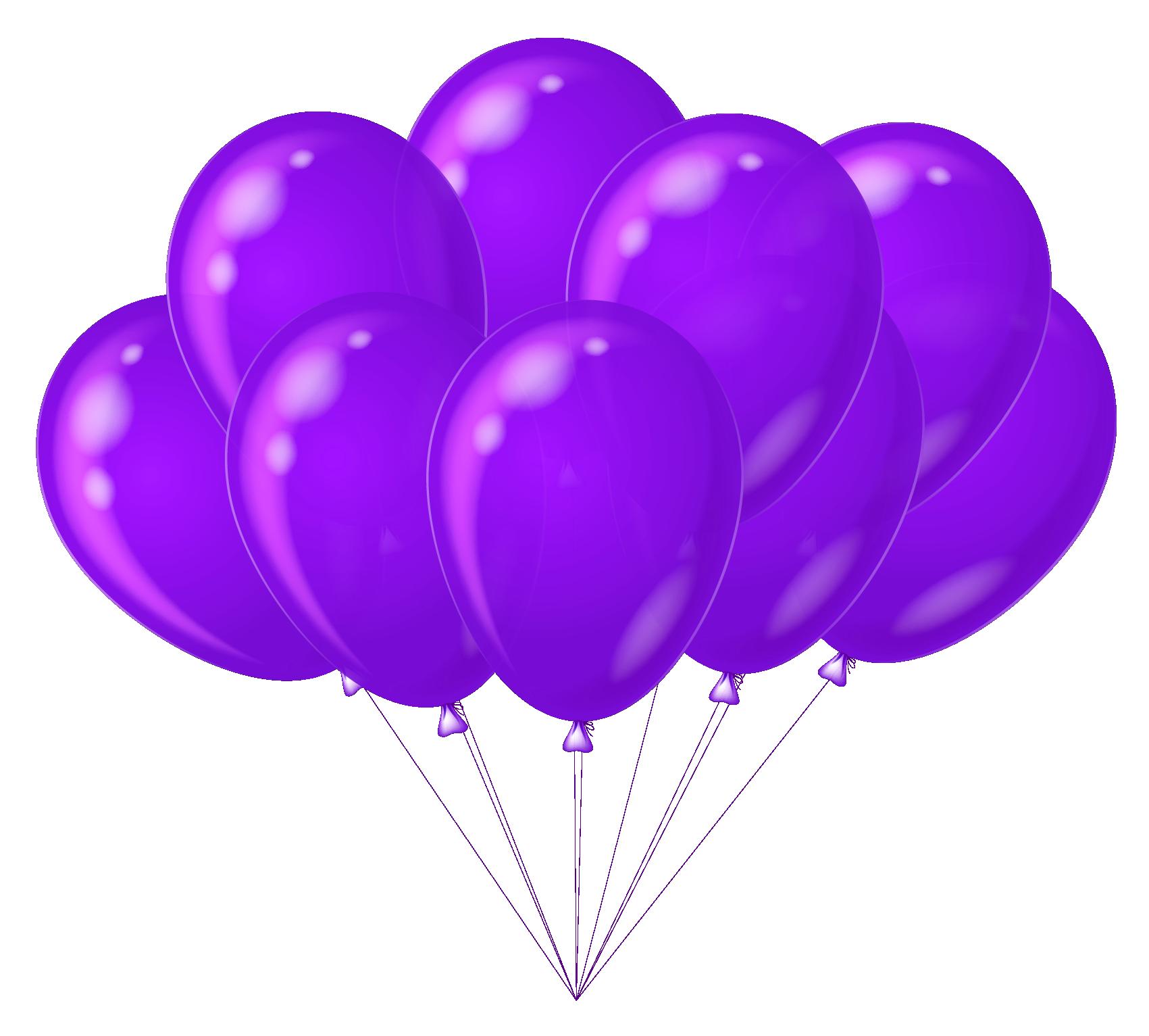 Transparent balloons gallery yopriceville. Purple clipart