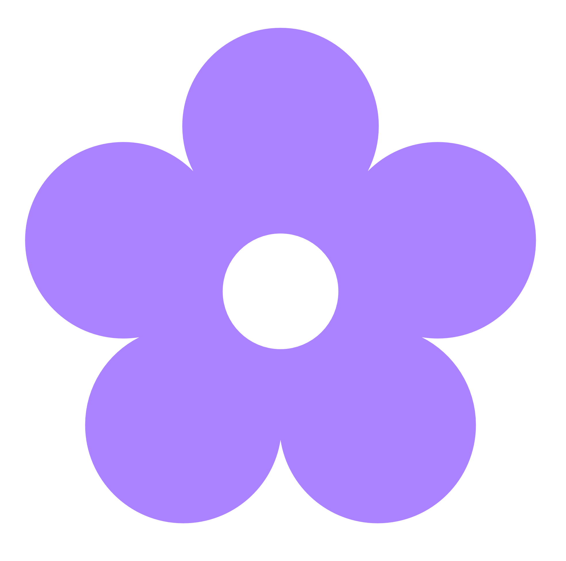 Cartoon flower png. Purple clipart