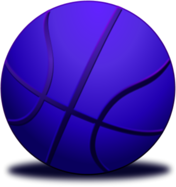 collection of high. Purple clipart basketball