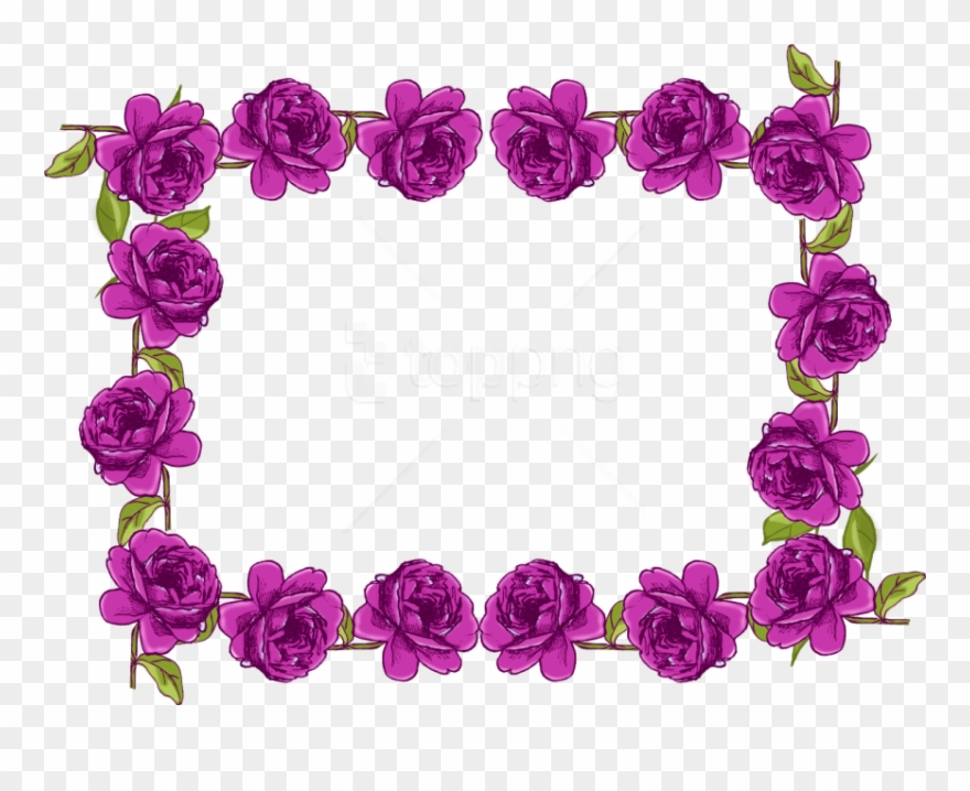 Free png border frame. Purple clipart boarder