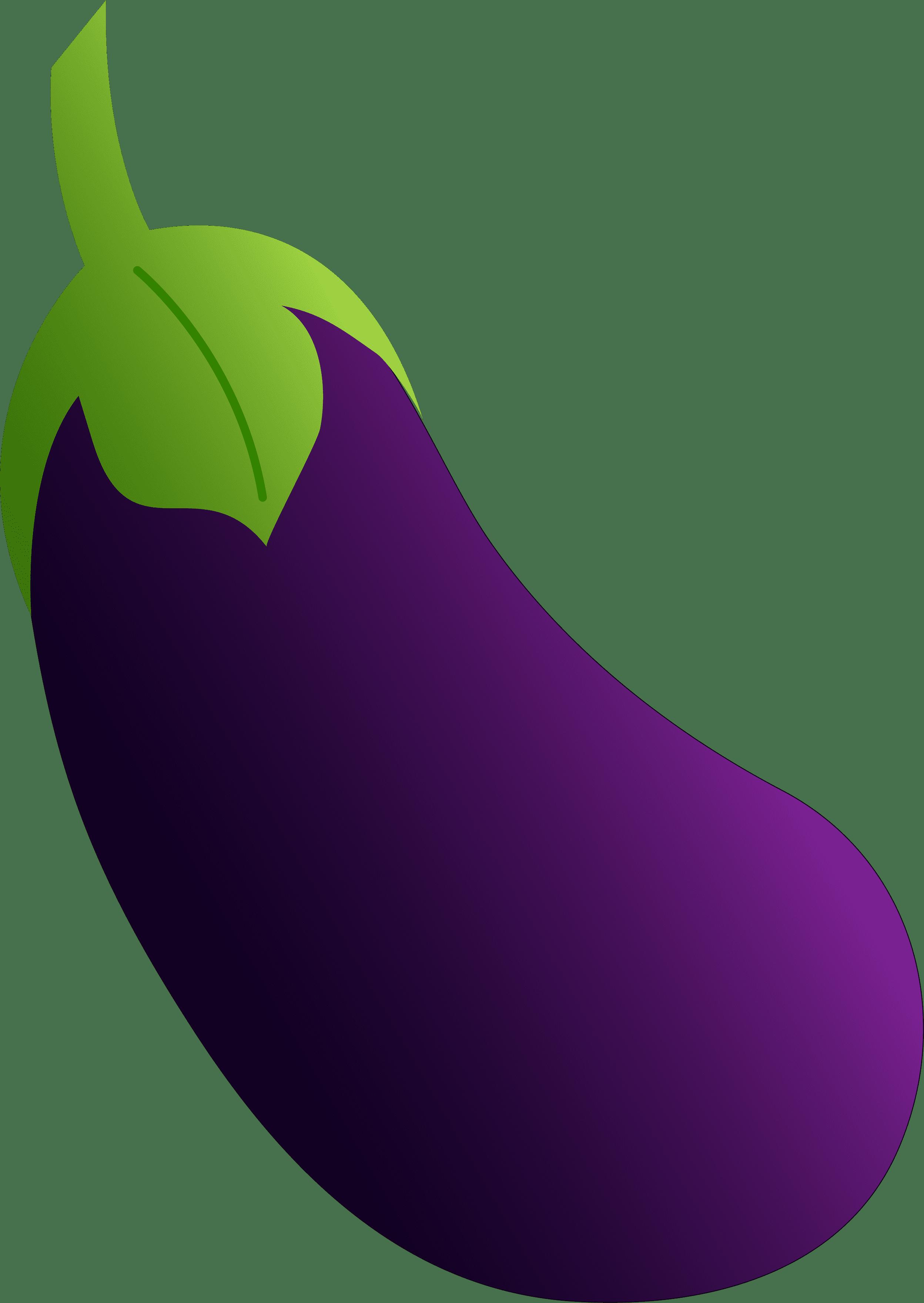 Eggplant png free images. Purple clipart brinjal