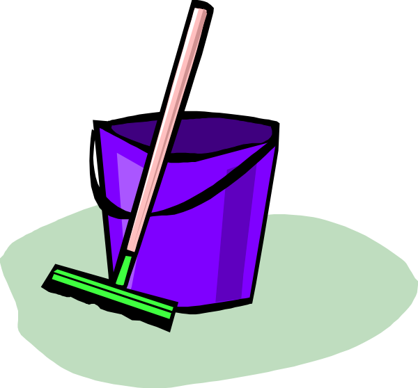 Purple clipart bucket. Cleaning clip art at