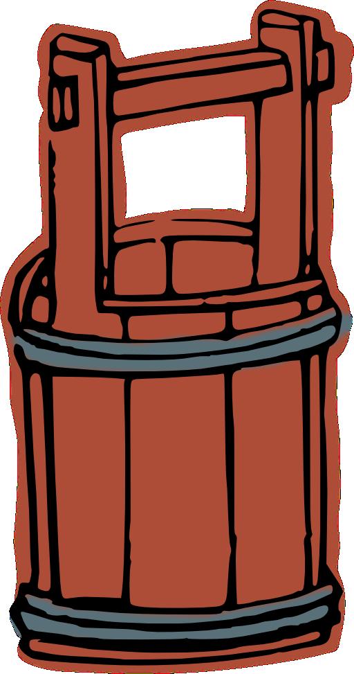 Purple clipart bucket. Wooden i royalty free