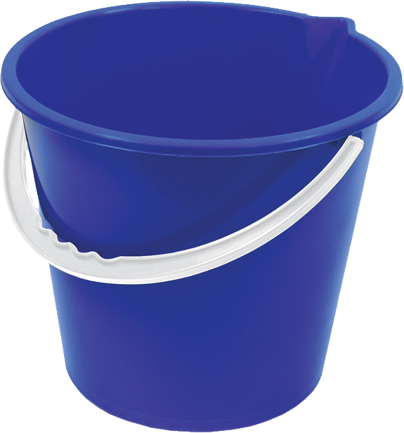 Water clipart bucket. Blue plastic png image