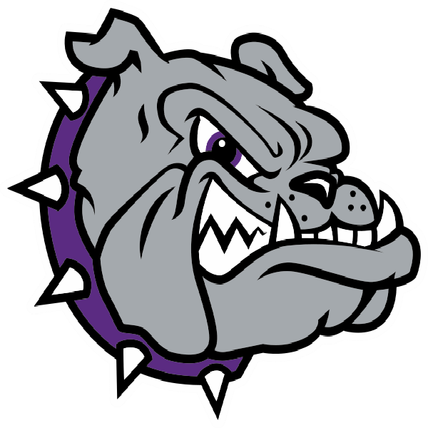 Brownsburg east middle school. Purple clipart bulldog