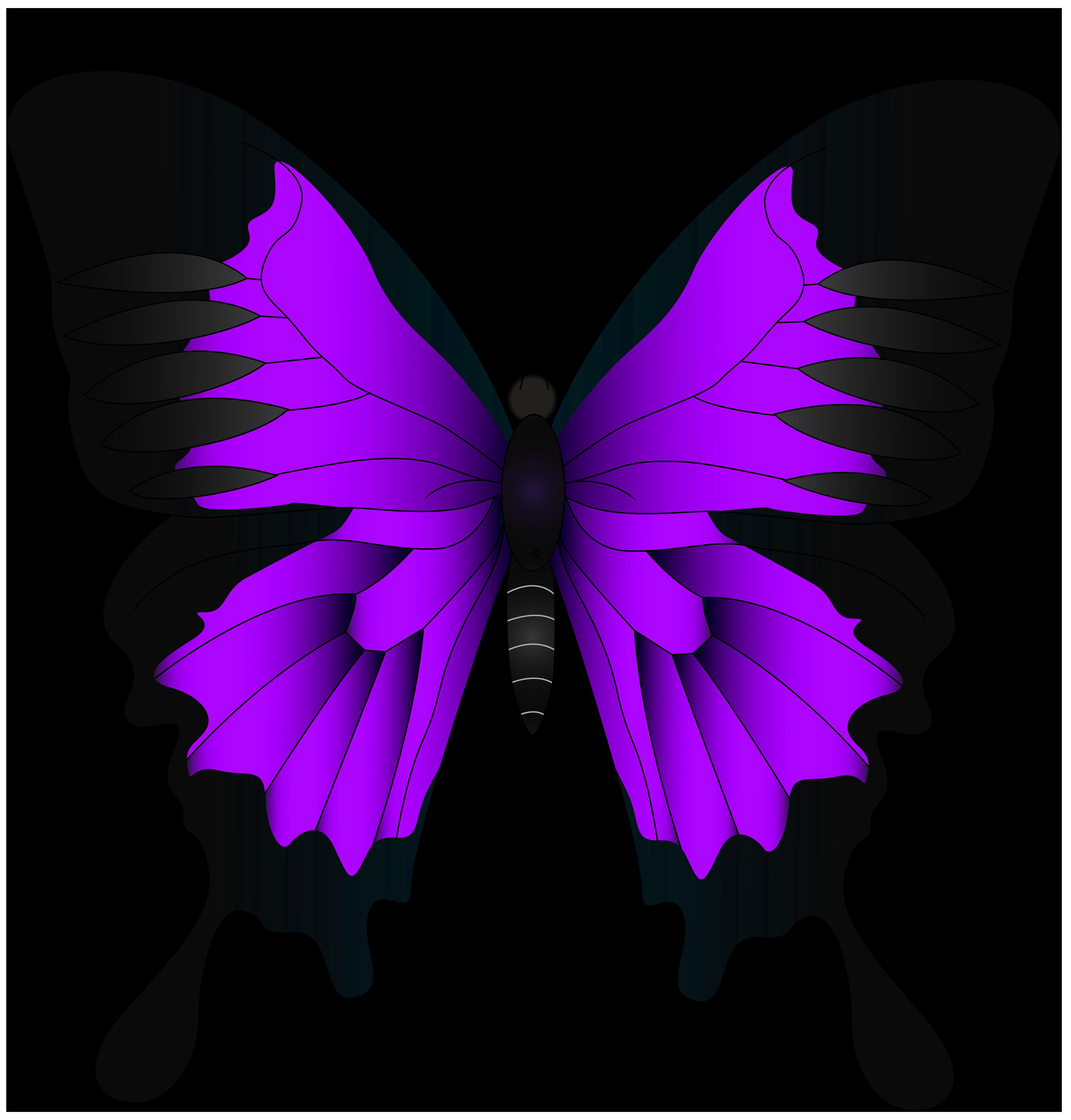 Purple png clip art. Clipart butterfly violet