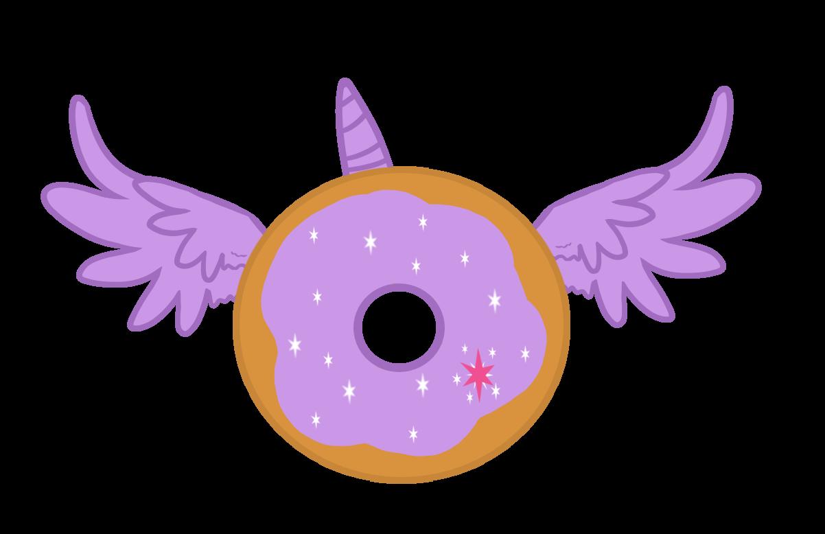 alicorn artist mrsjakeenglish. Purple clipart donut