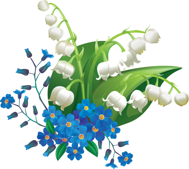 Forgetmenot nots. Purple clipart forget me not