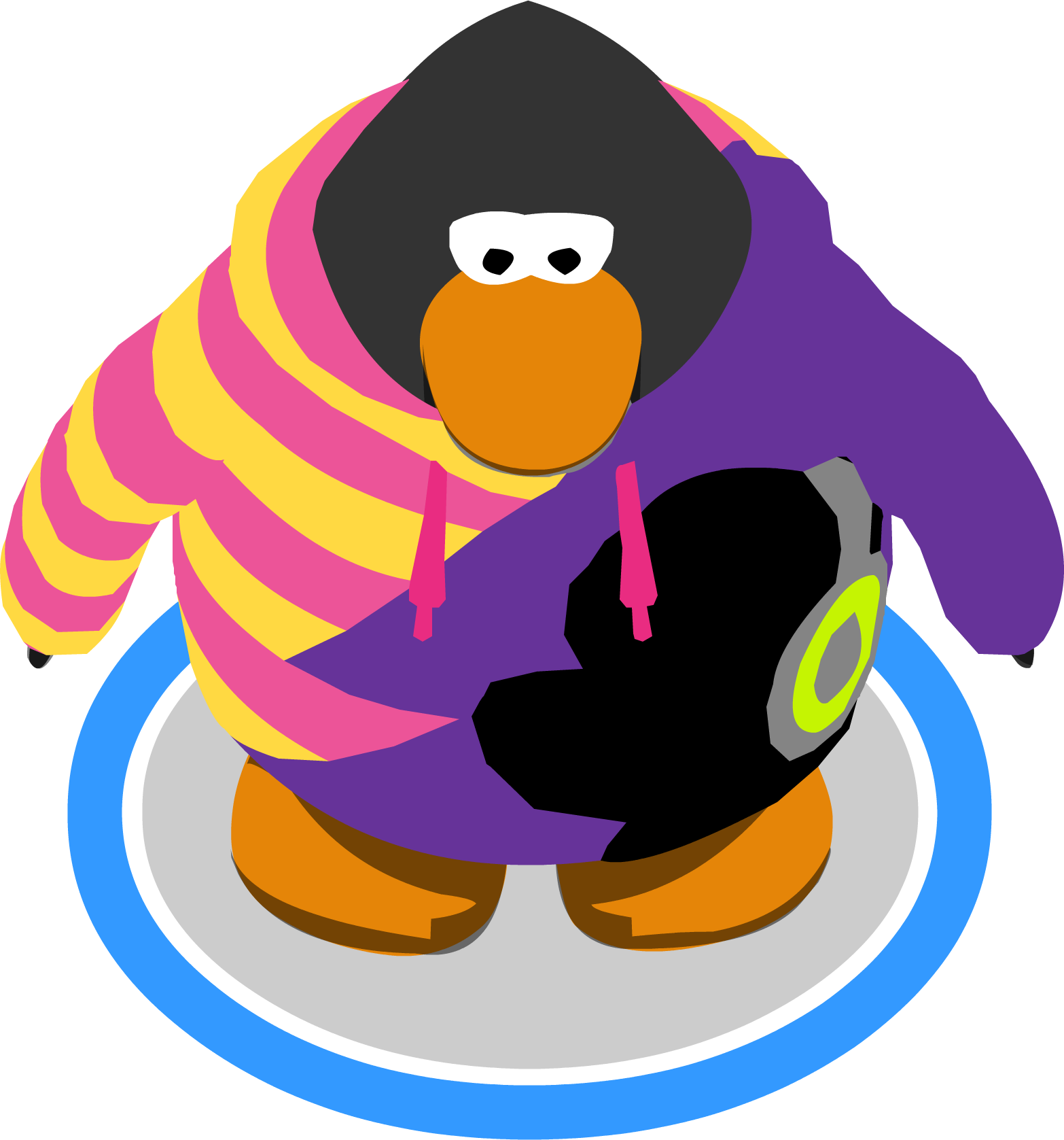 Purple clipart gorilla. Image dj cadence hoodie