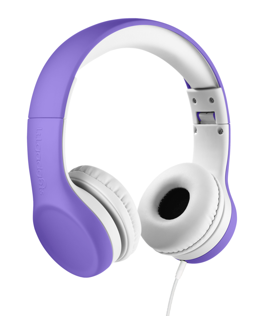 Connect lilgadgets lil gadgets. Purple clipart headphone
