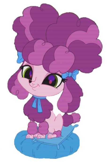Lps vector by mariahellenbrony. Purple clipart poodle