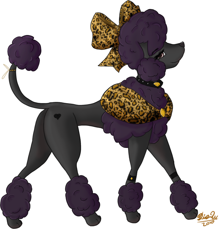 Purple clipart poodle. French at getdrawings com