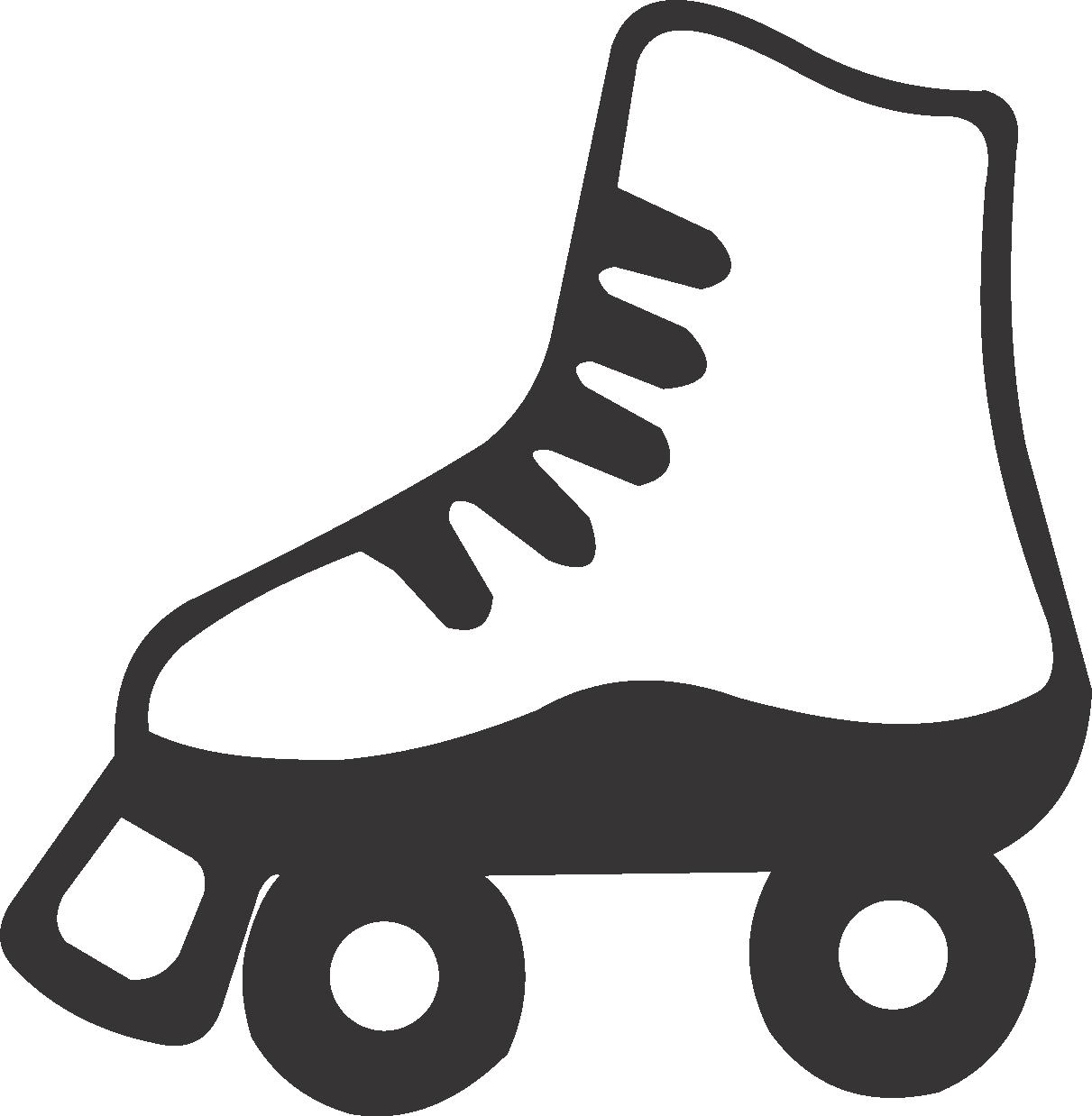 Usa custom jackets. Purple clipart roller skate