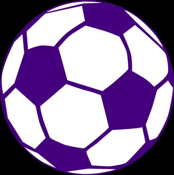 Important info on boys. Purple clipart soccer