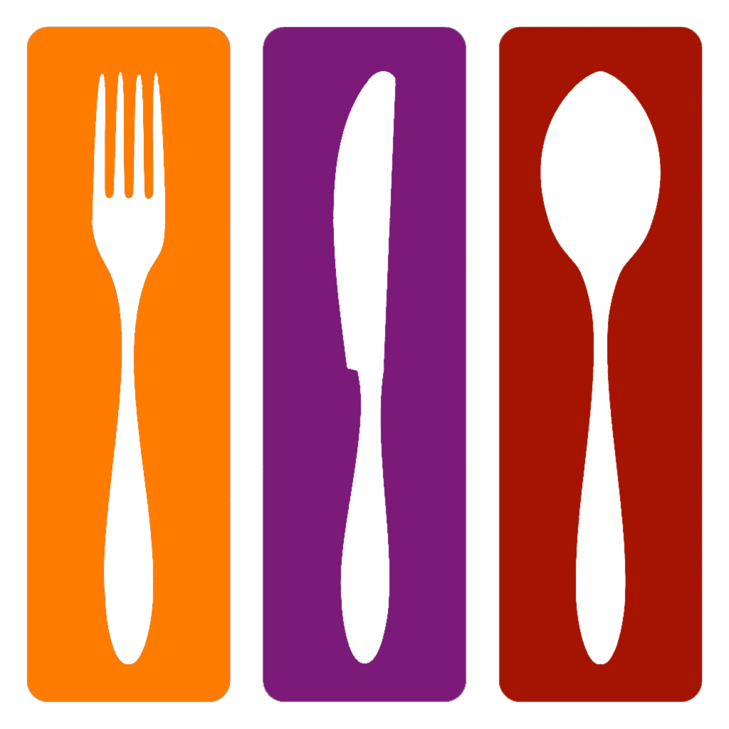 Purple clipart spoon. Knife fork cutlery clip