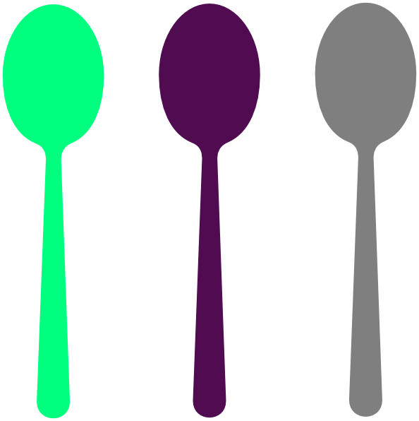 Site clip art at. Purple clipart spoon