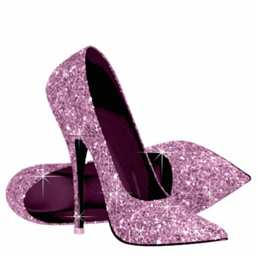 Pin by kimberly rochin. Purple clipart stiletto