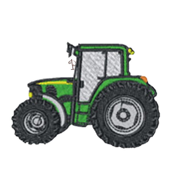 Purple clipart tractor. Personalised classic school book
