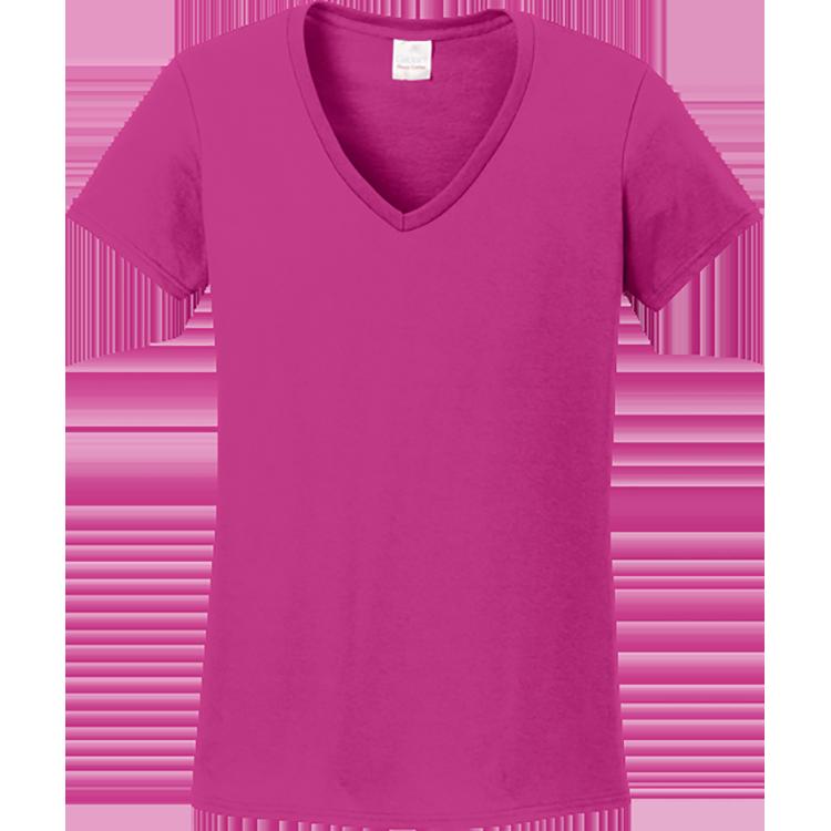 Women s cotton t. Purple clipart tshirt