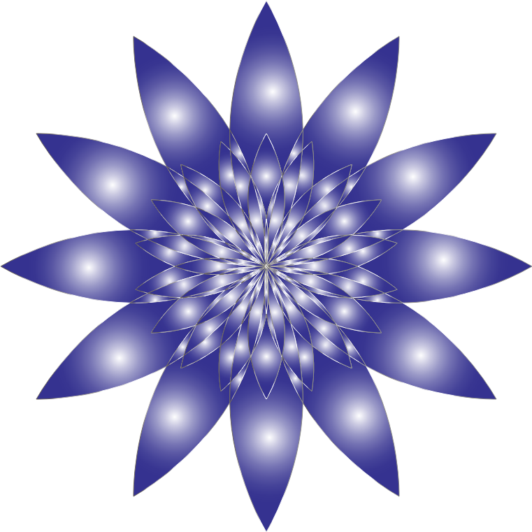 Chromatic flower no background. Purple clipart water lily