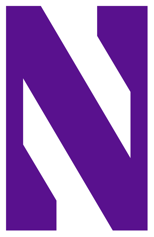 Purple clipart wildcat. File northwestern wildcats logo