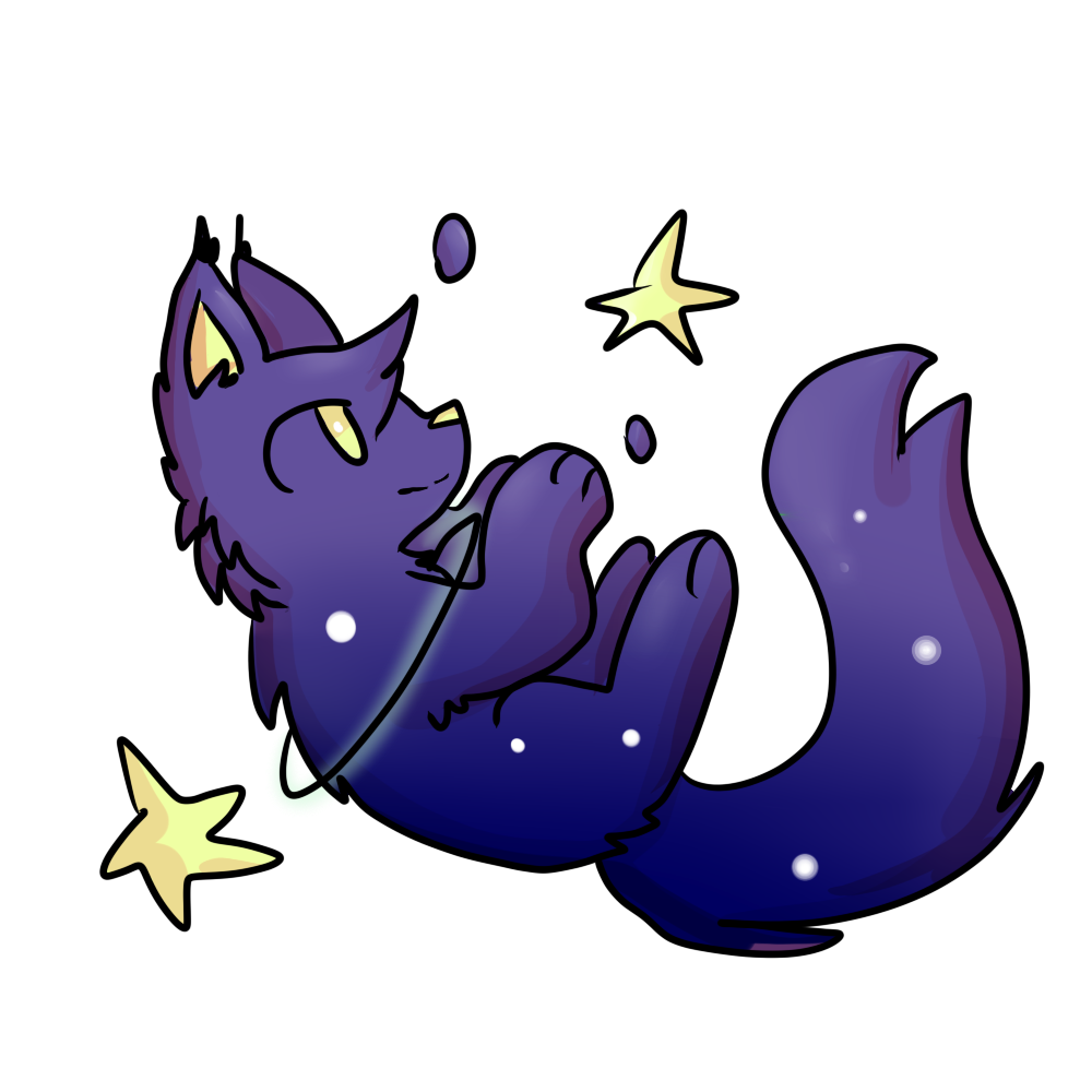 Winter clipart purple. Space cat by blanket