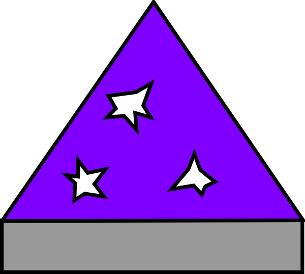 Hat clip art at. Purple clipart wizard