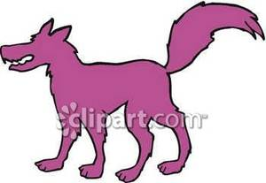 Wolf clipart purple. Silhouette royalty free picture