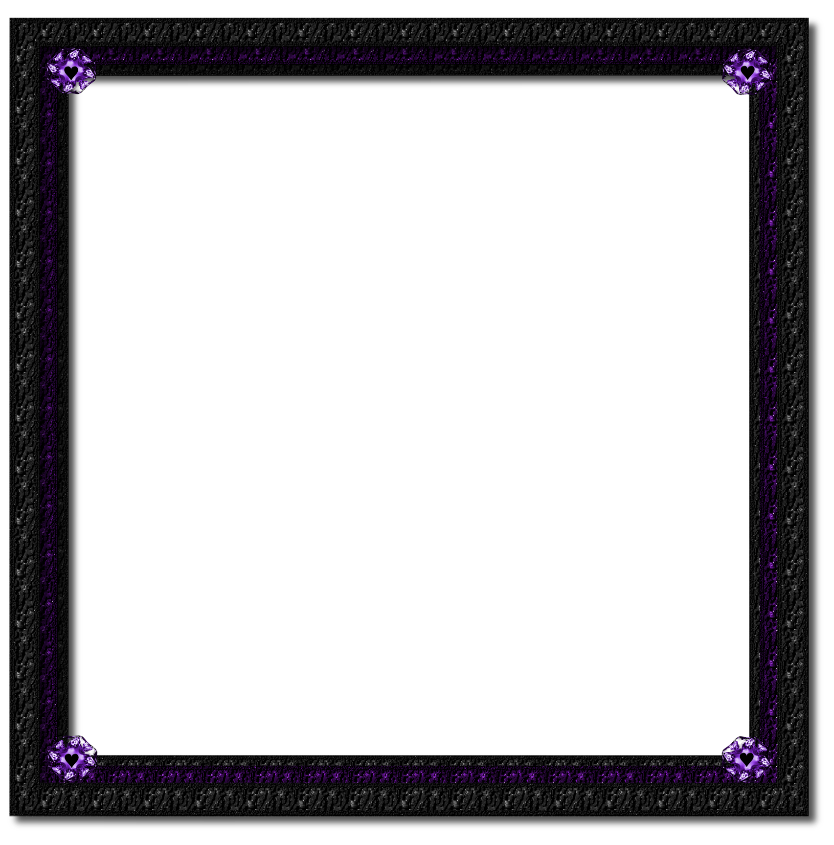 And black by jssanda. Purple frame png