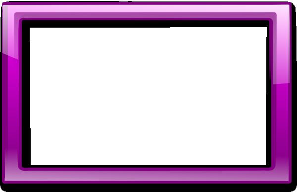Purple frame png. Clip art at clker