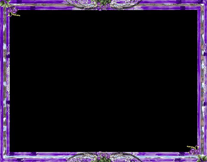 Purple frame png. Transparent background arts