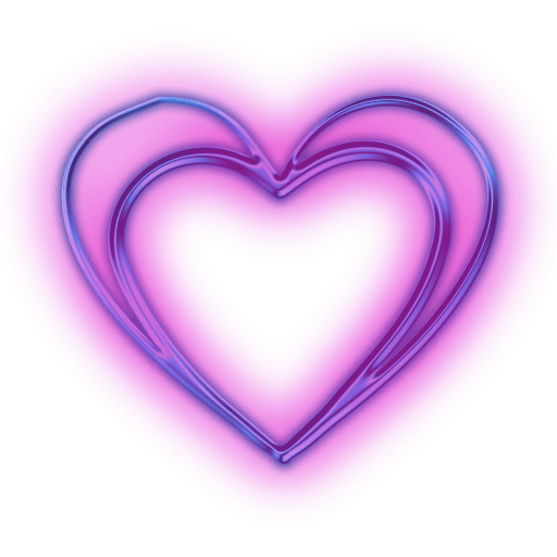 Purple hearts png. Heart transparent stickpng