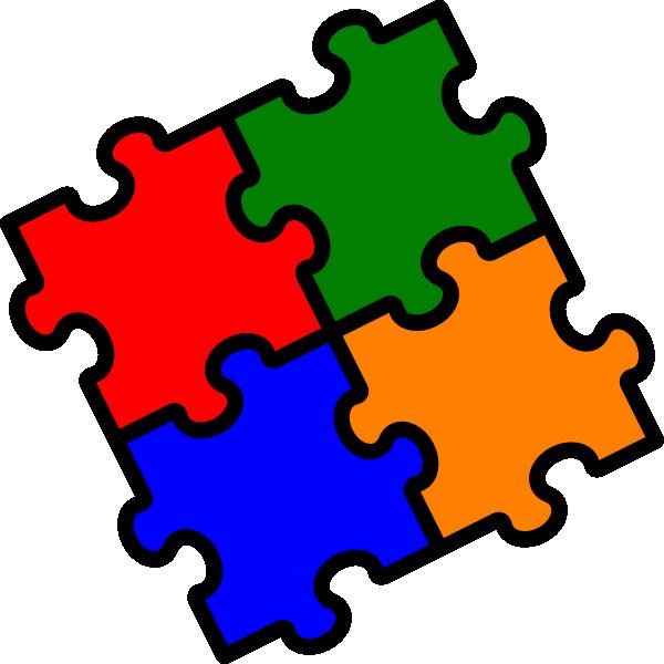 Puzzle clipart. Kid clipartix