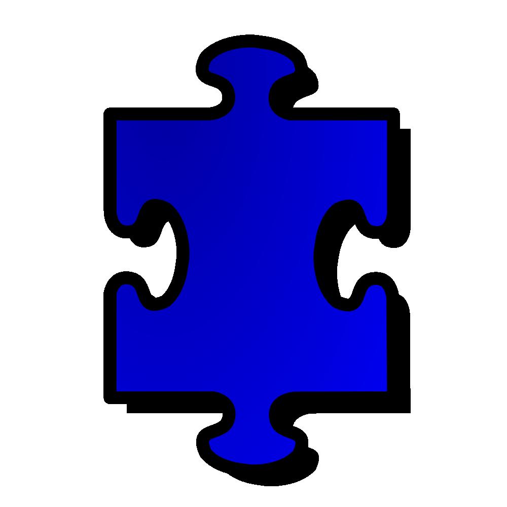 Onlinelabels clip art blue. Puzzle clipart 6 piece